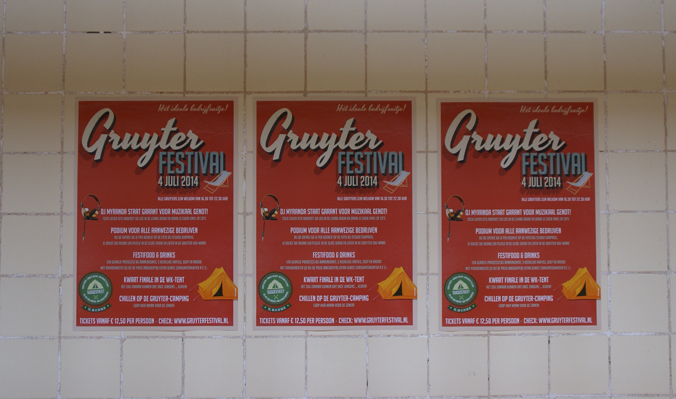 Gruterfestival posters