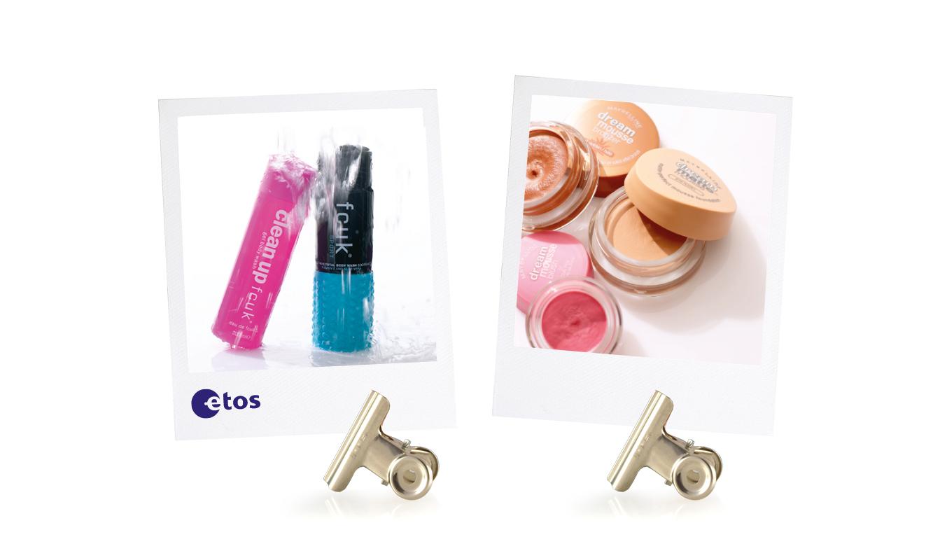 Etos art direction product shots